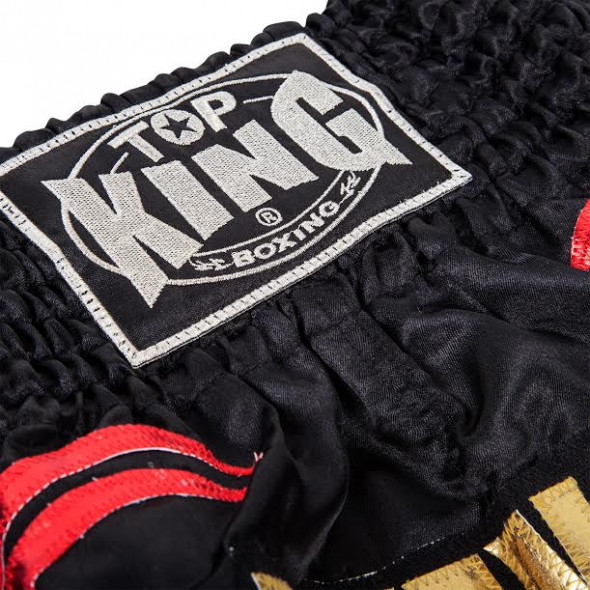 Short Muay Thai Buakaw noir - Top King
