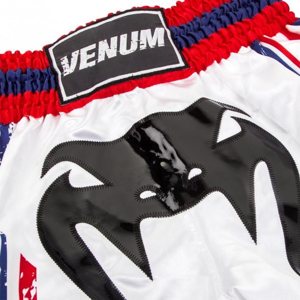 Venum Bangkok Spirit Muay Thai Short - White