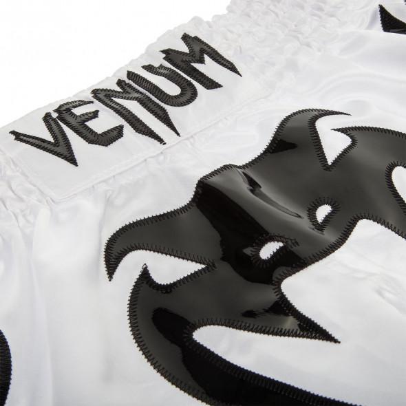Venum Bangkok Inferno Muay Thai Shorts - Ice/Black