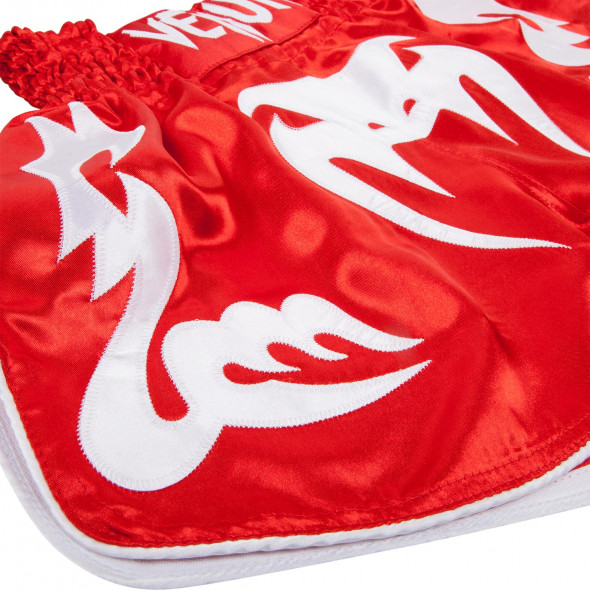 Venum Bangkok Inferno Muay Thai Shorts - Red/Ice