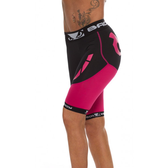 "Compression Shorts Bad Boy ""Ladies Sphere"" - Black / Pink"