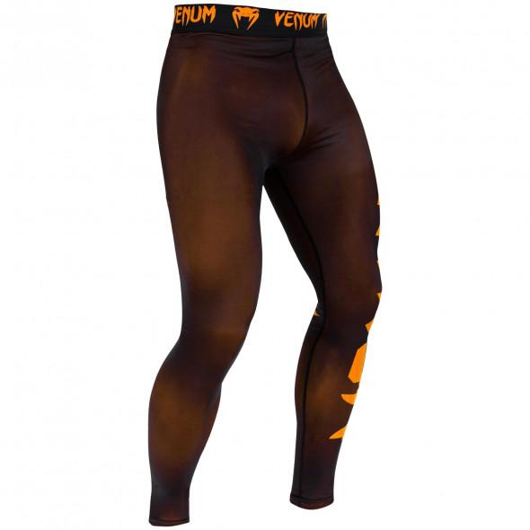 Venum Giant Spats - Black/Neo Orange