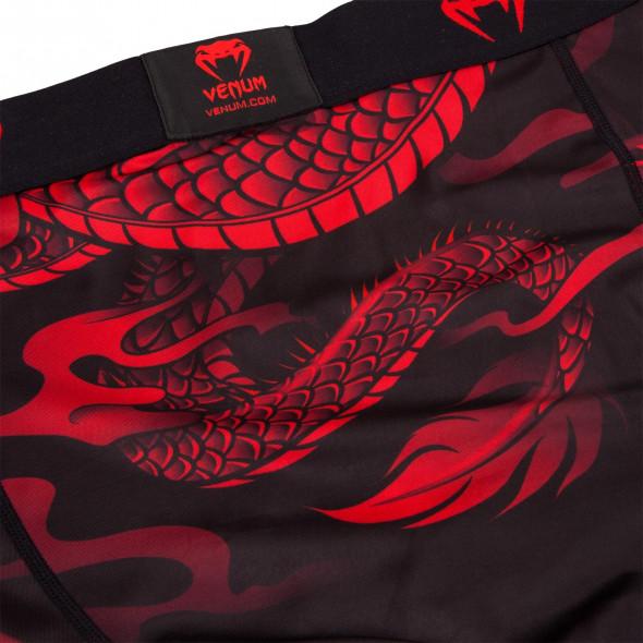 Venum Dragon's Flight Spats - Black/Red