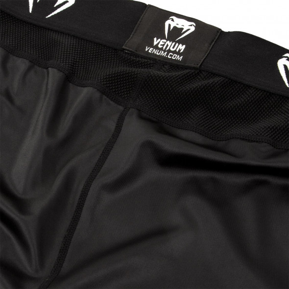 Venum Logos Spats - Black/White