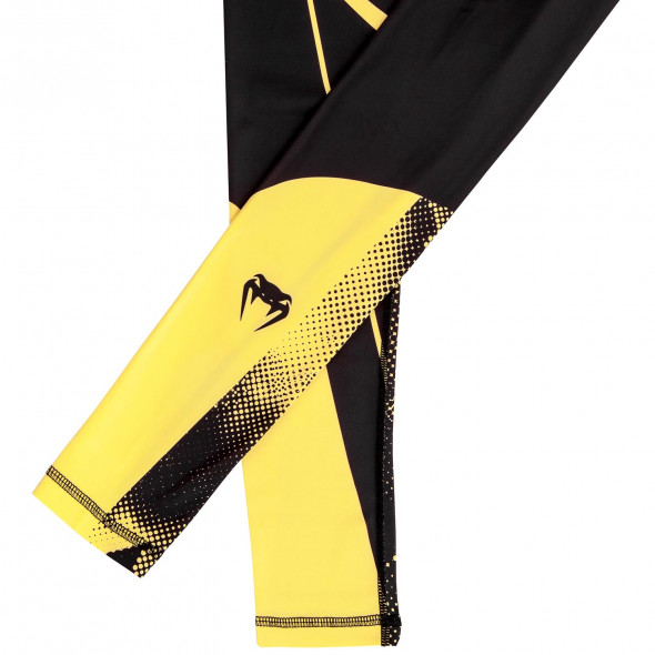 Venum Technical Spats - Black/Yellow