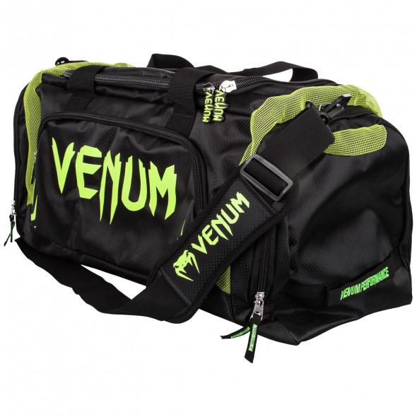Venum Trainer Lite Sport Bag - Black/Neo Yellow