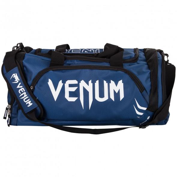 Venum Trainer Lite Sport Bag - Navy Blue/White
