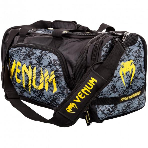Venum Tramo Sport Bag - Black/Yellow