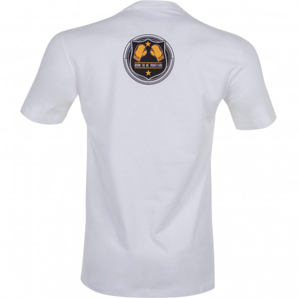 T-shirt Muay Thai Squad blanc - vue de dos