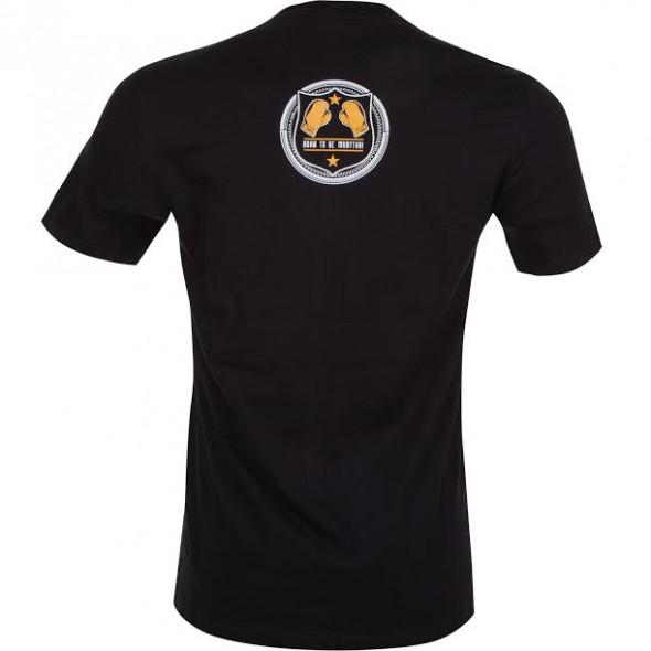 T-shirt Muay Thai Squad noir - vue de dos