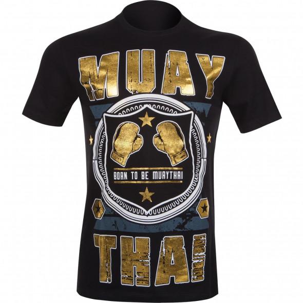 T-shirt Muay Thai Squad noir - vue de face