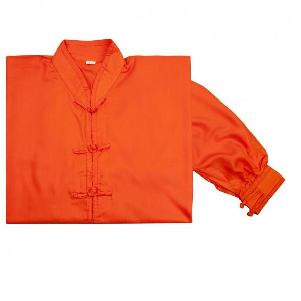 Kimono de Tai chi Fuji Mae - orange
