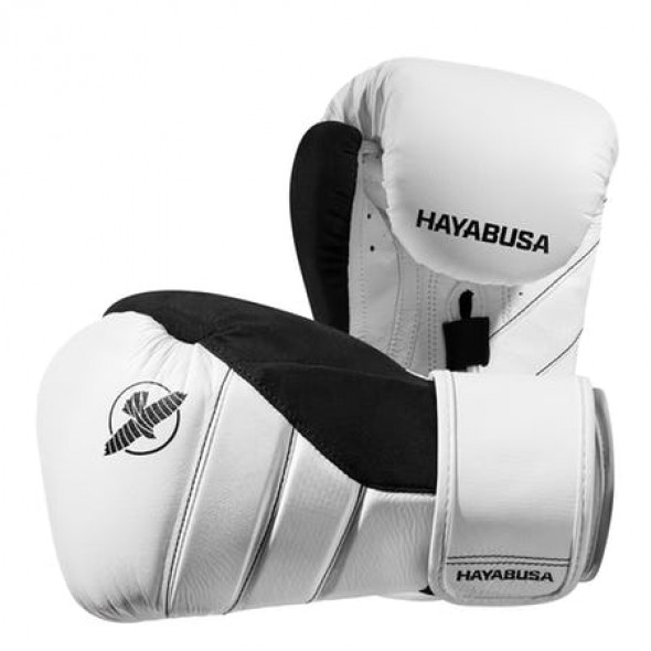 Hayabusa T3 Boxing Gloves - White/Black
