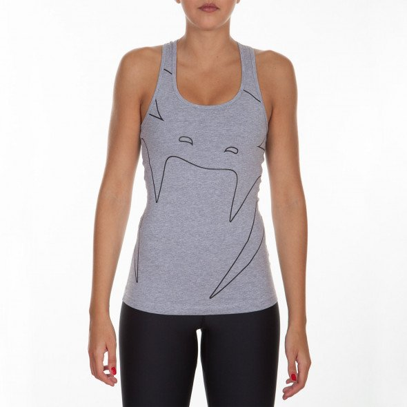Venum Assault Tank Top - Grey - For Women