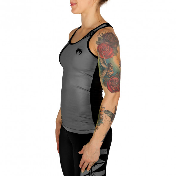 Venum Power Tank Top - Grey/Black