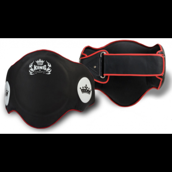 Top King Belly belt  - Black/Red