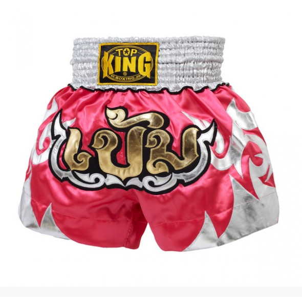 Short Muay Thai Top King - Rose