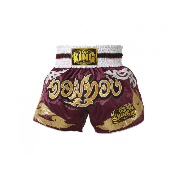 Top King Short Muay Thai  - Violet