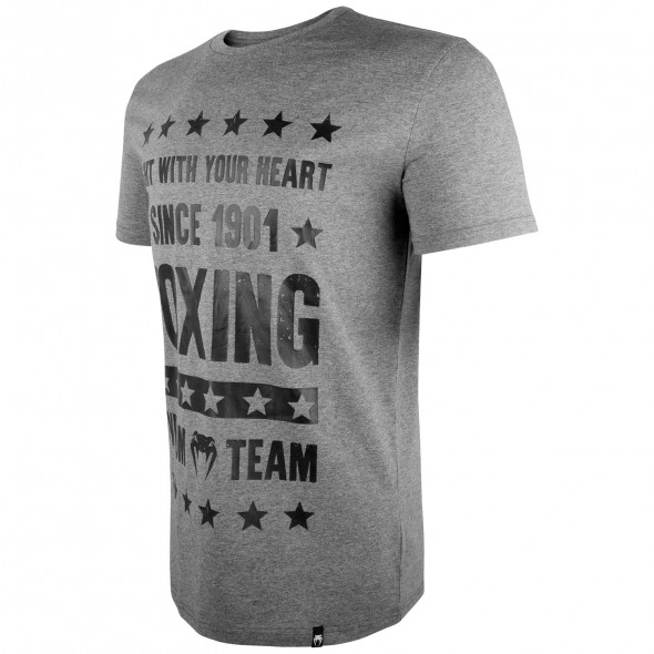 Venum Boxing Origins T-shirt - Heather Grey