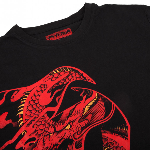 Venum Giant x Dragon T-shirt - Black/Red