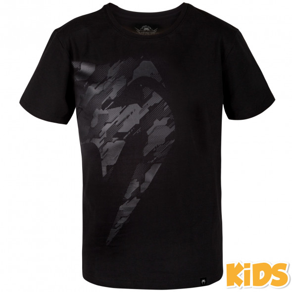 Venum Tecmo Giant T-shirt - Kids - Black/Black