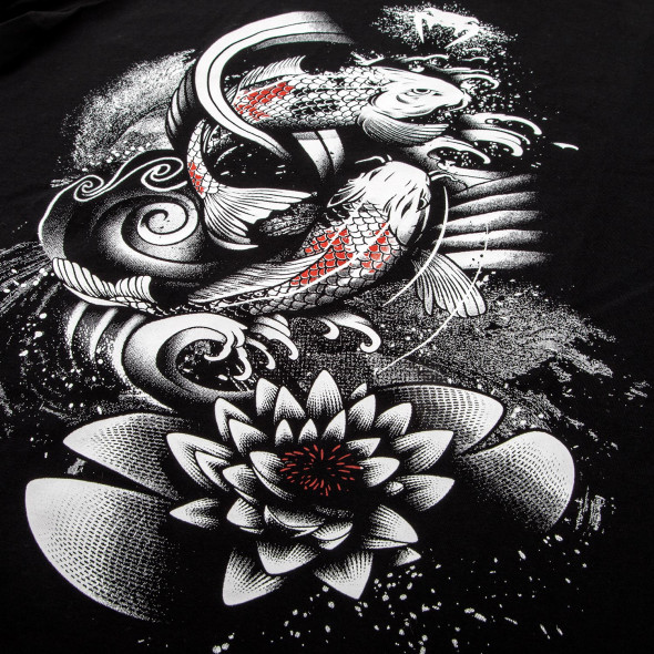 Venum Koi 2.0 T-shirt - Black/White