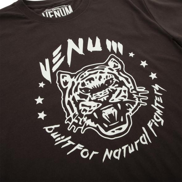 Venum Natural Fighter - Tiger - T-shirt - Brown
