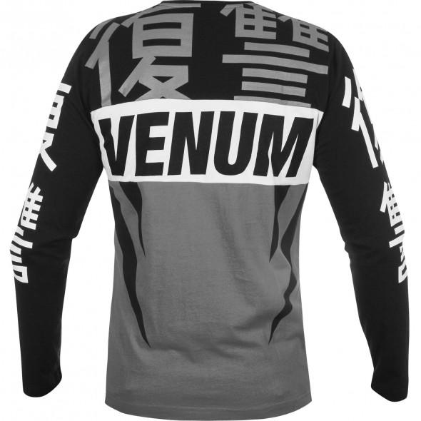 Venum Revenge T-shirt - Long Sleeves - Grey