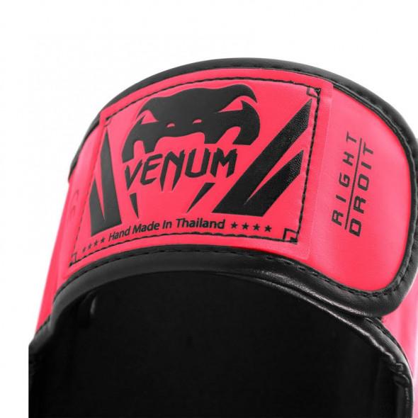 Venum Elite Standup Shinguards - Pink