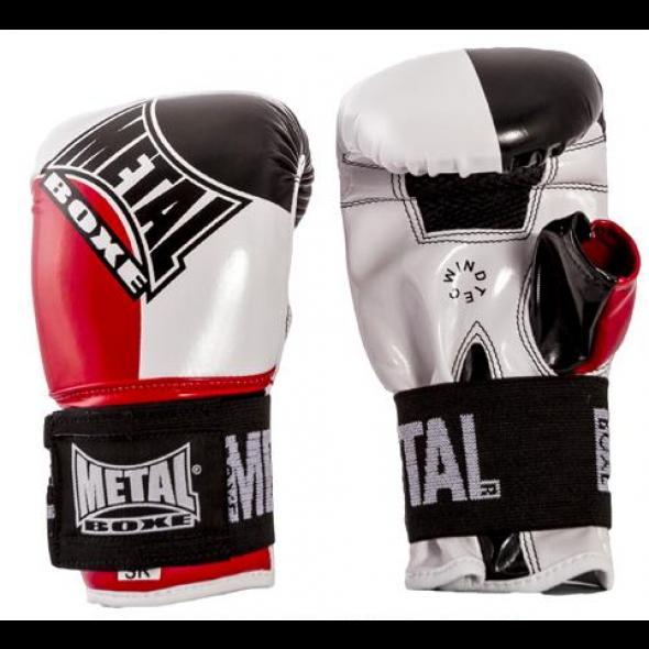 Gants de sac Metal Boxe Curtex - Noir/Blanc