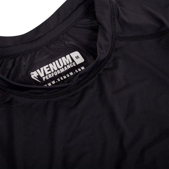Venum Contender 2 Compression T-shirt - Short Sleeves - Black/Ice