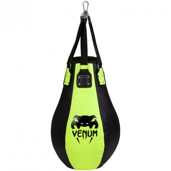 Venum Upper Cut Bag - 85 Cm-  Black/Neo Yellow