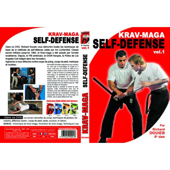 "Dvd ""Krav Maga-self defense"" vol1 Richard Douieb"