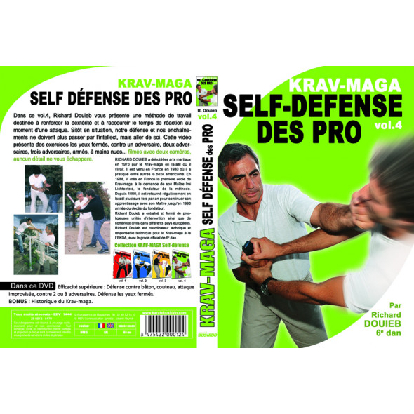 """Krav Maga-The pros self-defense vol 4"" Richard Douieb"