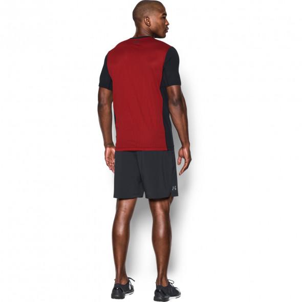 T-shirt Under Armour Raid Turbo - Noir/Rouge