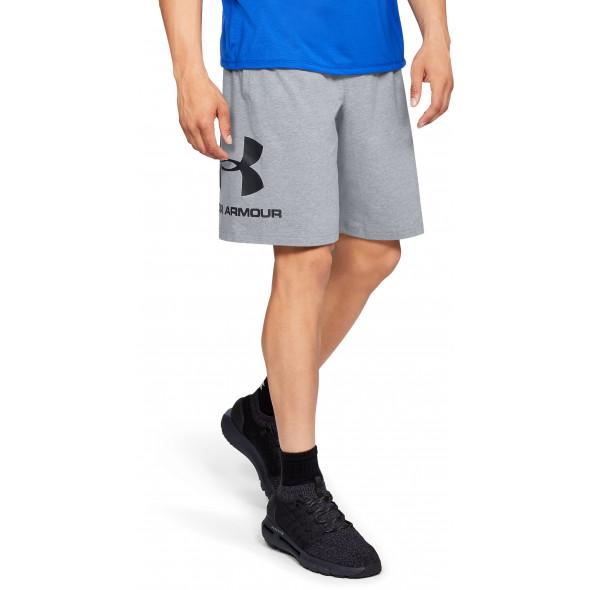 Short Coton Under Armour Sportstyle Graphic - Gris