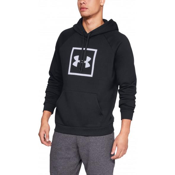 Sweat à capuche Under Armour Rival Fleece Logo - Noir