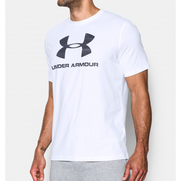 T-Shirt Under Armour Sportstyle Logo Graphic - Blanc