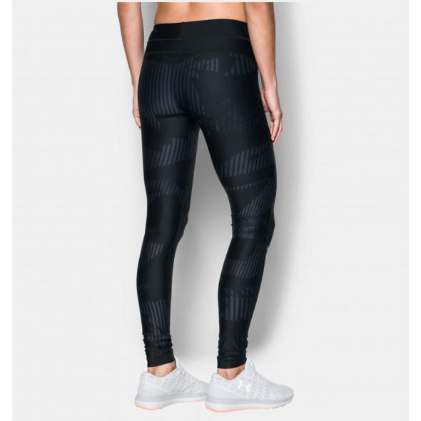 Leggings Imprimé Femme Under Armour HeatGear - Noir