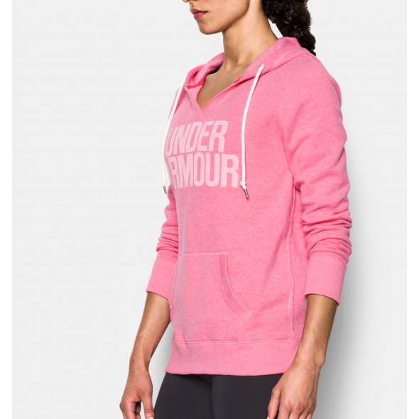 Sweatshirt Femme Under Armour Favorite Fleece - Rose
