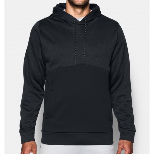 Sweatshirt à capuche UA Storm Icon Twist - Noir
