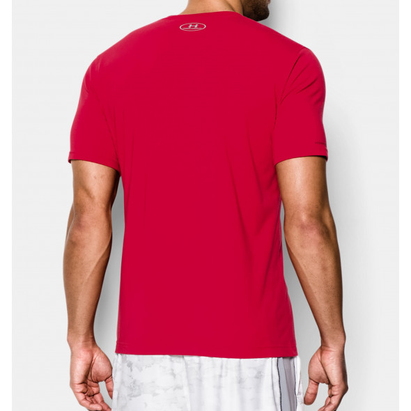 T-shirt Under Armour Sportstyle Logo - Rouge