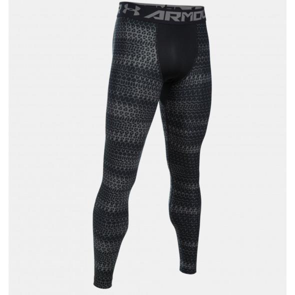 Legging imprimé Under Armour HeatGear® pour homme