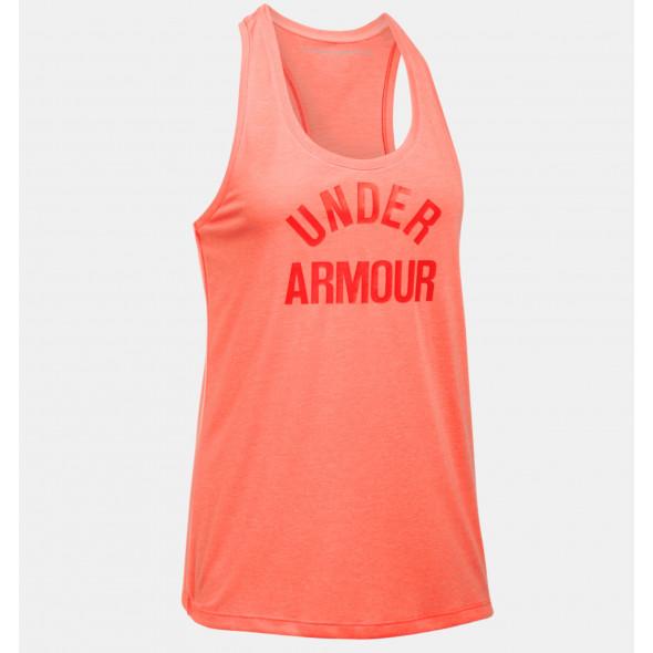 Débardeur Femme Under Armour Threadborne - Orange Chiné