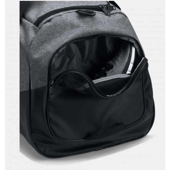 Sac de sport Under Armour Undeniable 3.0 Medium - 55 Litres-Gris/Noir/Blanc