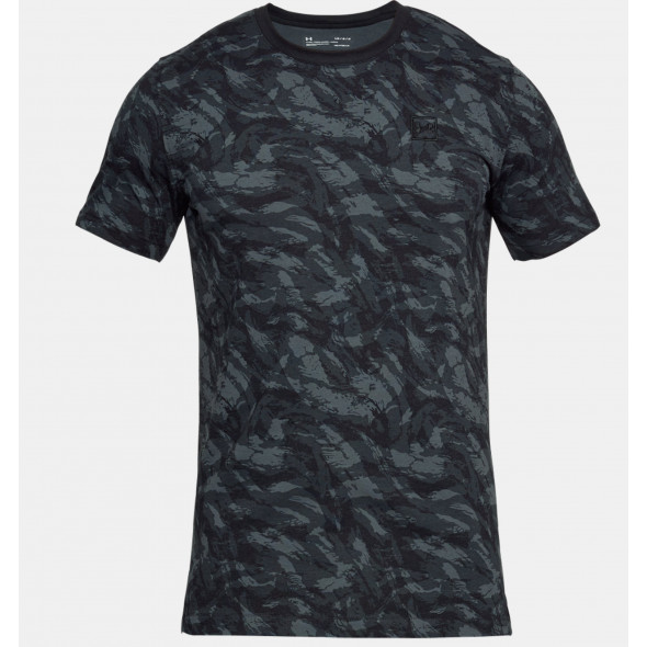 T-shirt imprimé Under Armour Sportstyle - Noir