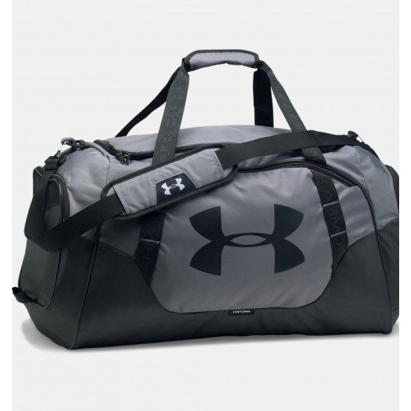 Sac de sport Under Armour Undeniable 3.0 Medium - 55 Litres - Gris/Noir