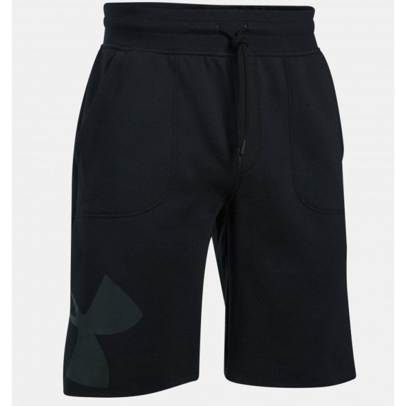 Short Under Armour Rival Exploded Graphic - Noir