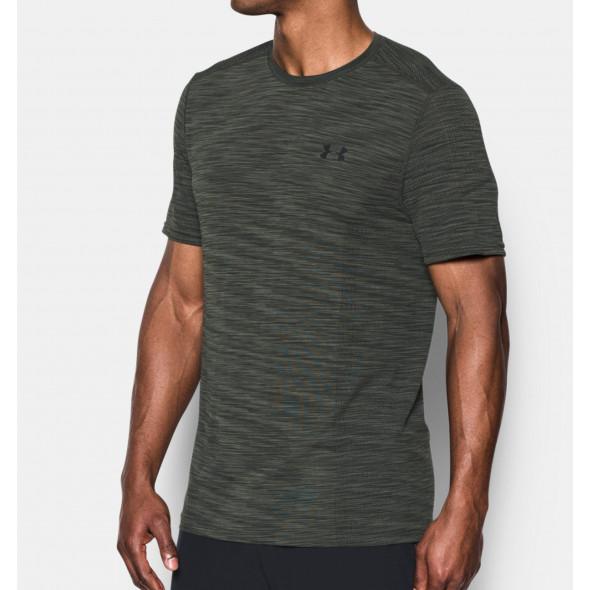 T-shirt Under Armour Threadborne Seamless - Gris
