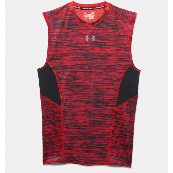 Débardeur compression Under Armour CoolSwitch - rouge